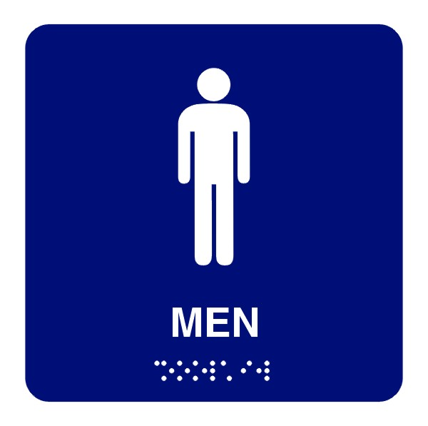 Gallery For Men Restroom Sign